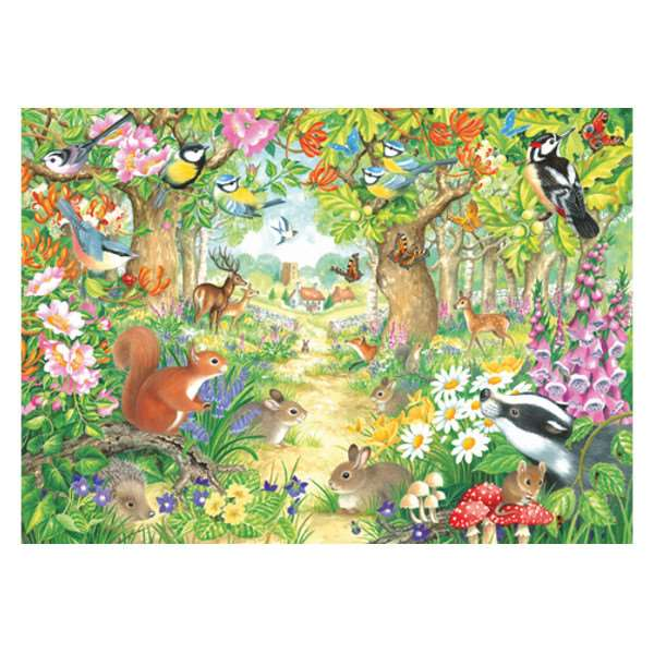 Woodland Trail -1000pc jigsaw puzzle