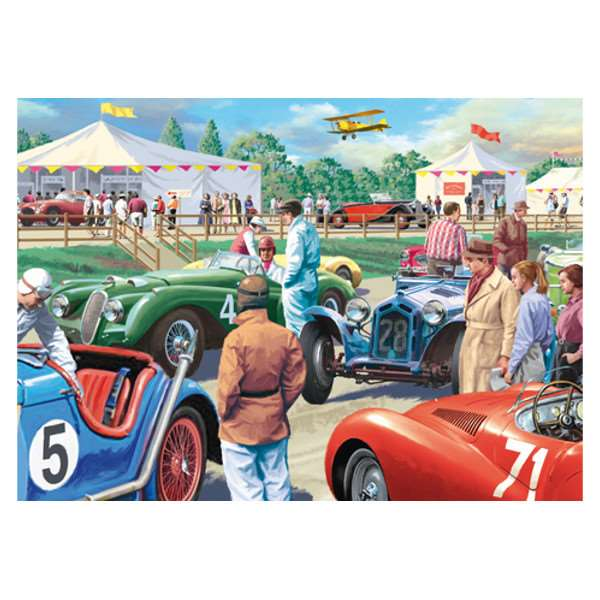 Legends of the Track - 1000pc jigsaw puzzle