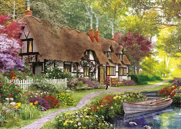 The Carpenters Cottage - 1000pc jigsaw puzzle