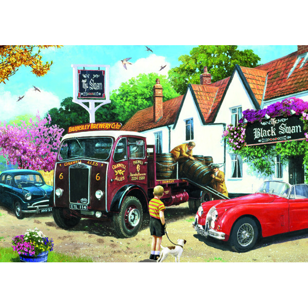 The Delivery Round - 500pc jigsaw puzzle
