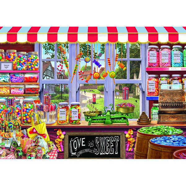 Sweet Shop - 1000pc jigsaw puzzle