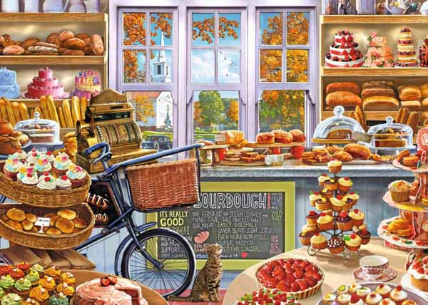 Bellas Bakery Shoppe - 1000pc jigsaw puzzle
