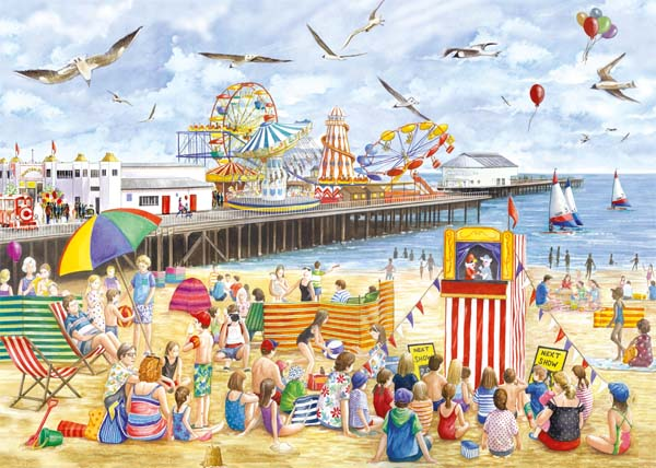 Clacton-on-Sea - 1000pc jigsaw puzzle