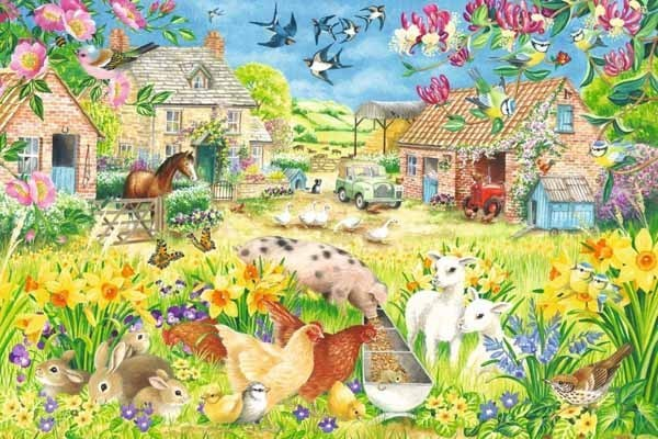 Lambing Season - 1500 pieces jigsaw puzzle