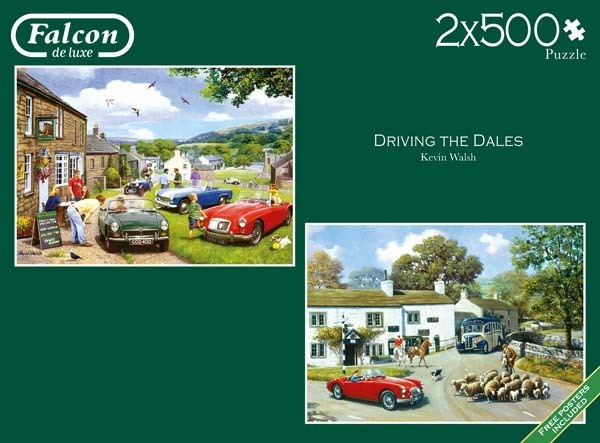 Driving in the Dales - 2x500pc jigsaw puzzle
