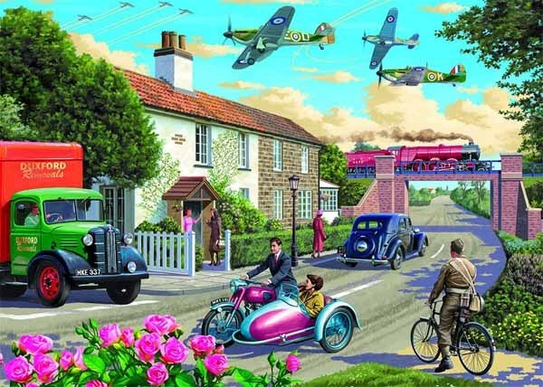 Wartime Morning - 1000pc jigsaw puzzle