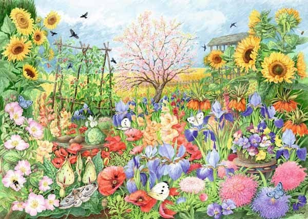 The Sunflower Garden - 1000pc jigsaw puzzle