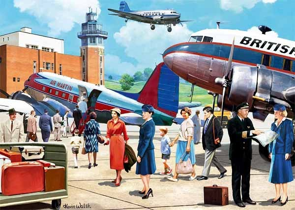 Boarding the Douglas DC3 - 500pc jigsaw puzzle
