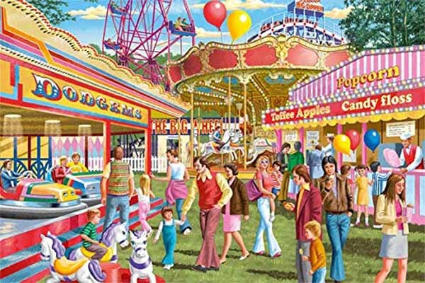 Fun at the Fair - 1500pc jigsaw puzzle