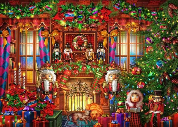 Christmas Jigsaw Puzzles.The Nutcrackers Christmas 500pc Jigsaw Puzzle From