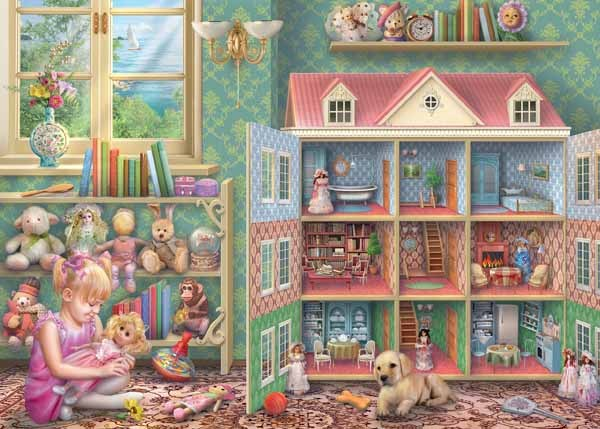Dolls House Memories - 1000pc jigsaw puzzle
