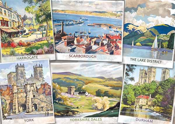 The Beautiful North - 1000pc jigsaw puzzle