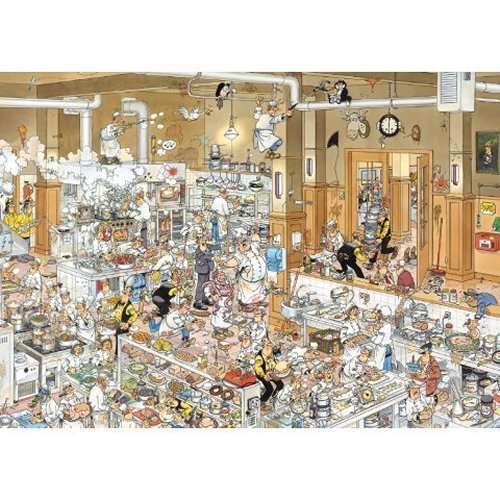 JVH - The Kitchen 1000 jigsaw puzzle