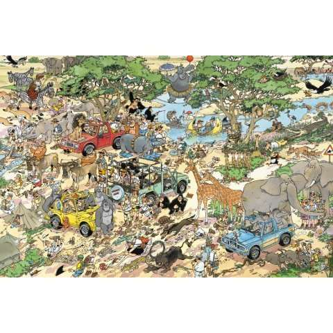 Safari - 1500 piece JVH jigsaw puzzle