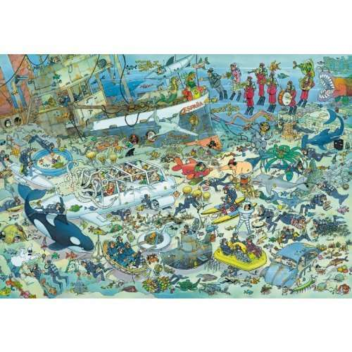 Deep Sea Fun JVH - 1000 Pieces jigsaw puzzle