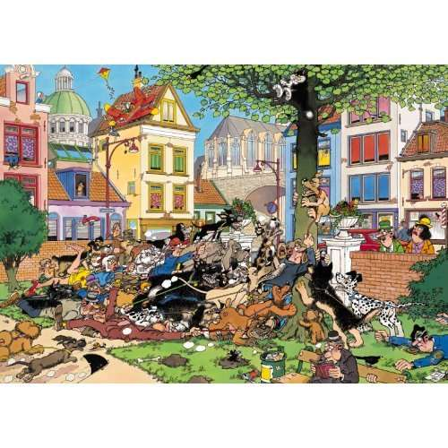 Get That Cat - JVH jigsaw puzzle