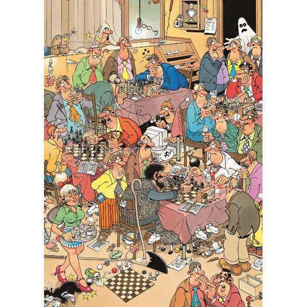 The Chess Club - JVH jigsaw puzzle