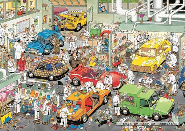 Car Respraying Shop - JVH jigsaw puzzle