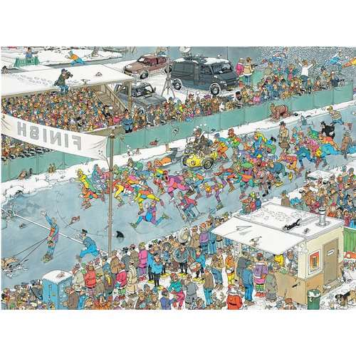 JVH - Eleven City Ice Tour jigsaw puzzle