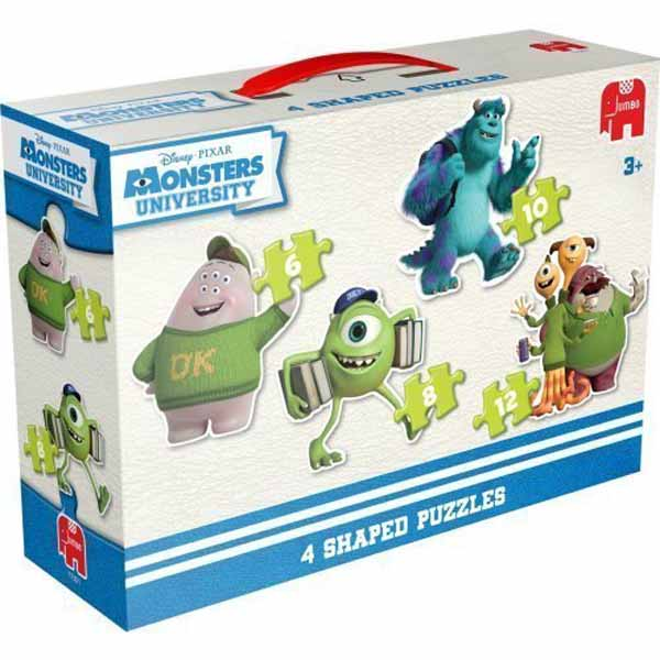 Disney Monster University 4 in 1 Shaped Puzzle jigsaw puzzle