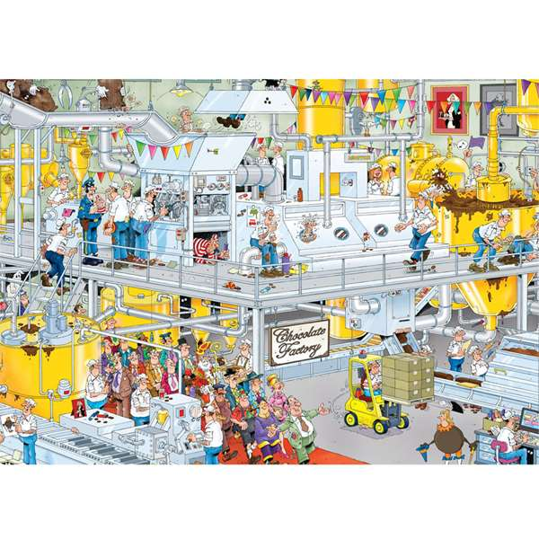 JVH - The Chocolate factory jigsaw puzzle