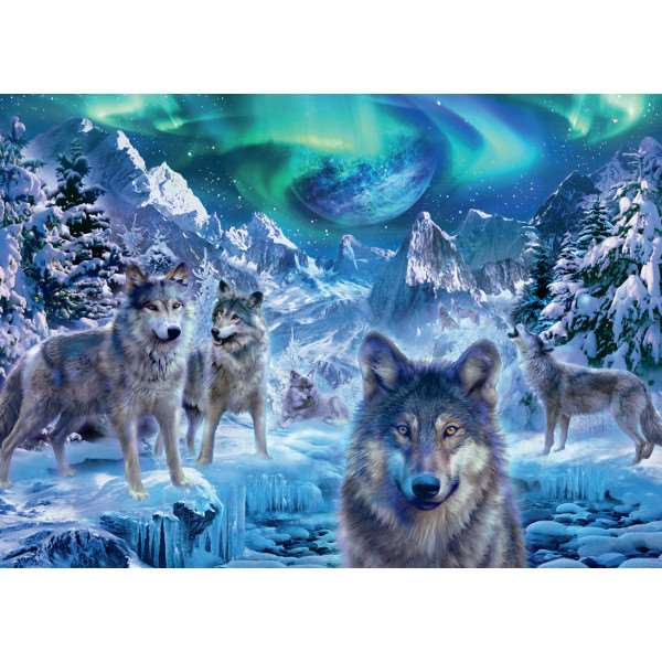 Winter Wolves - 500 piece jigsaw puzzle