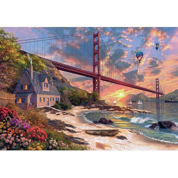 Golden Gate Bridge - 1000pc jigsaw puzzle