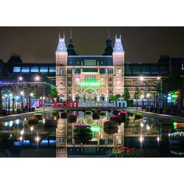 Rijksmuseum by Night - 1000pc jigsaw puzzle