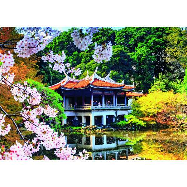 Blossom in Japan - 1000pc jigsaw puzzle