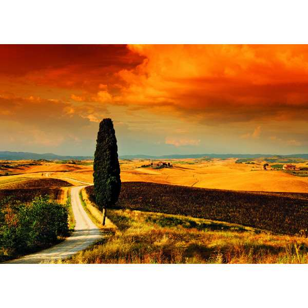 Tuscan Sunset - 1000pc jigsaw puzzle