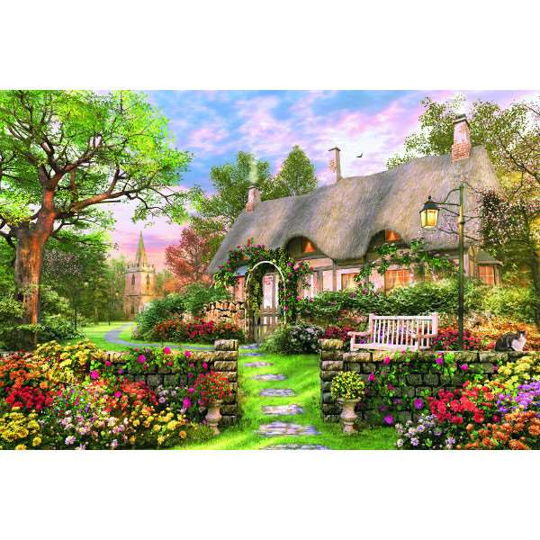 Sunny Cottage - 1500pc jigsaw puzzle