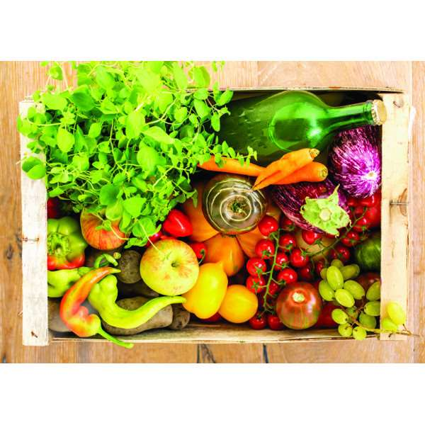 Fruit and Vegetable Box - 500pc jigsaw puzzle