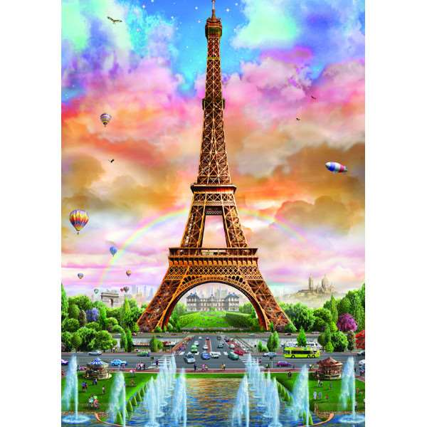 Eiffel Tower - 500 pieces jigsaw puzzle