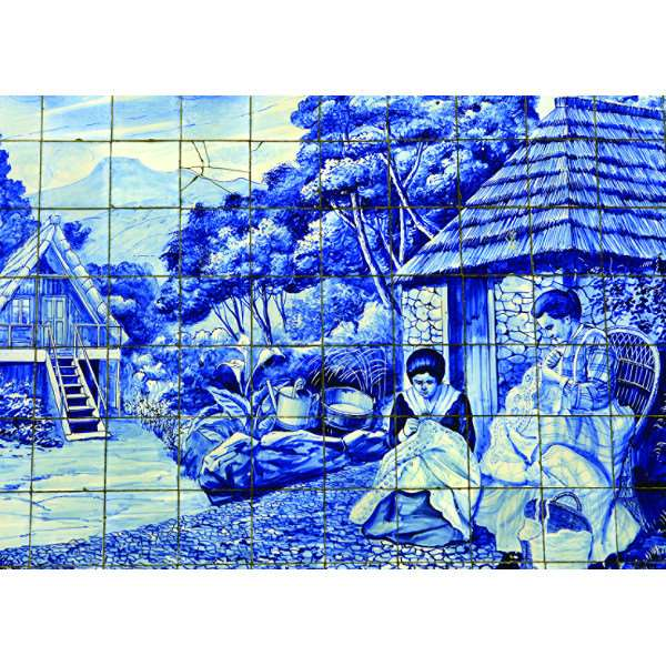 Tiles of Funchal - 500pc jigsaw puzzle