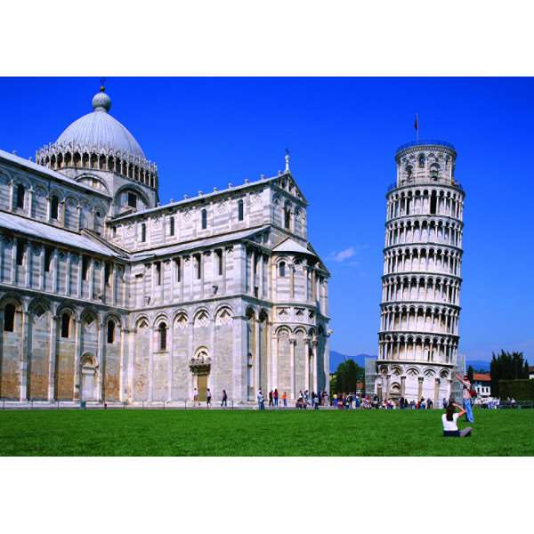 Tower of Pisa - 500pc jigsaw puzzle