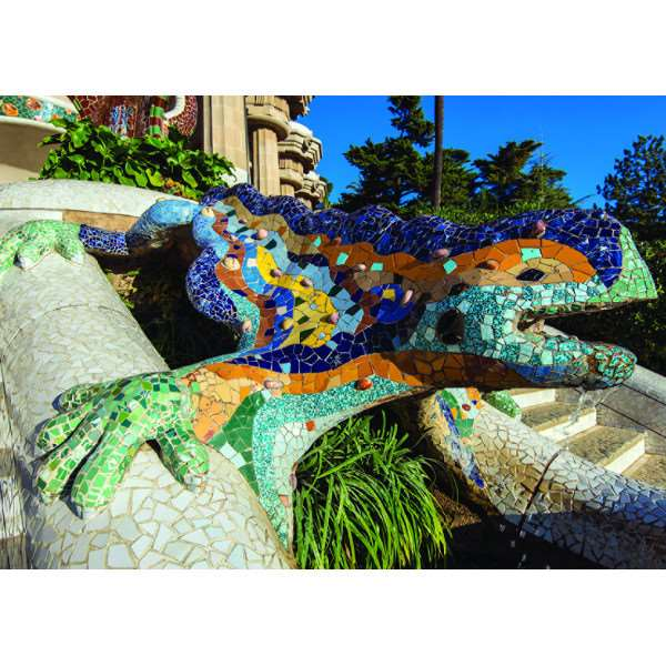Parque Guell - Barcelona - 500pc jigsaw puzzle