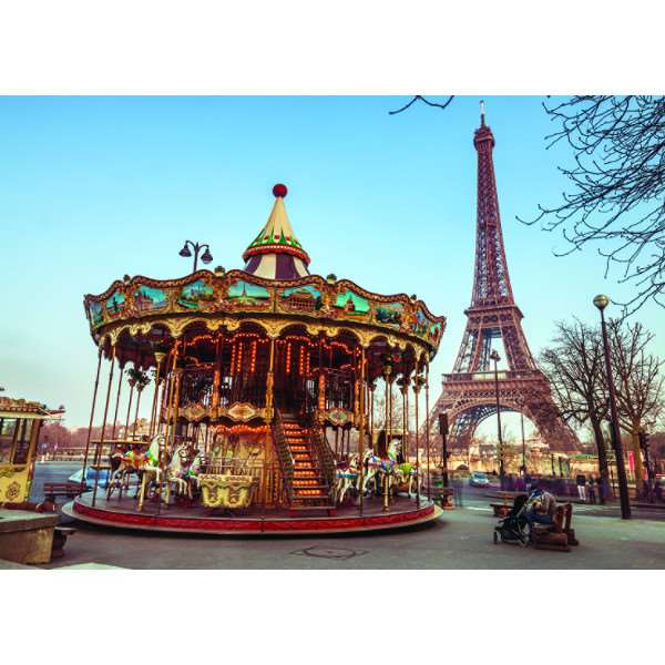 Paris - France - 1000pc jigsaw puzzle