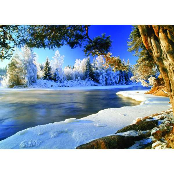Dal River - Sweden - 1000pc jigsaw puzzle