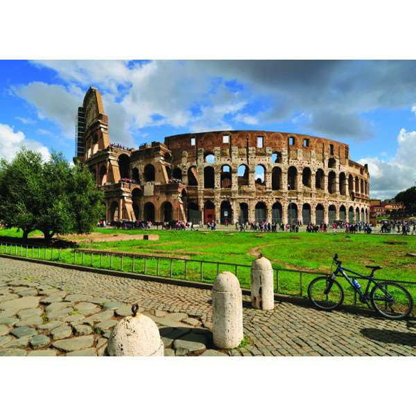 Rome - Collosseum - 1000pc jigsaw puzzle