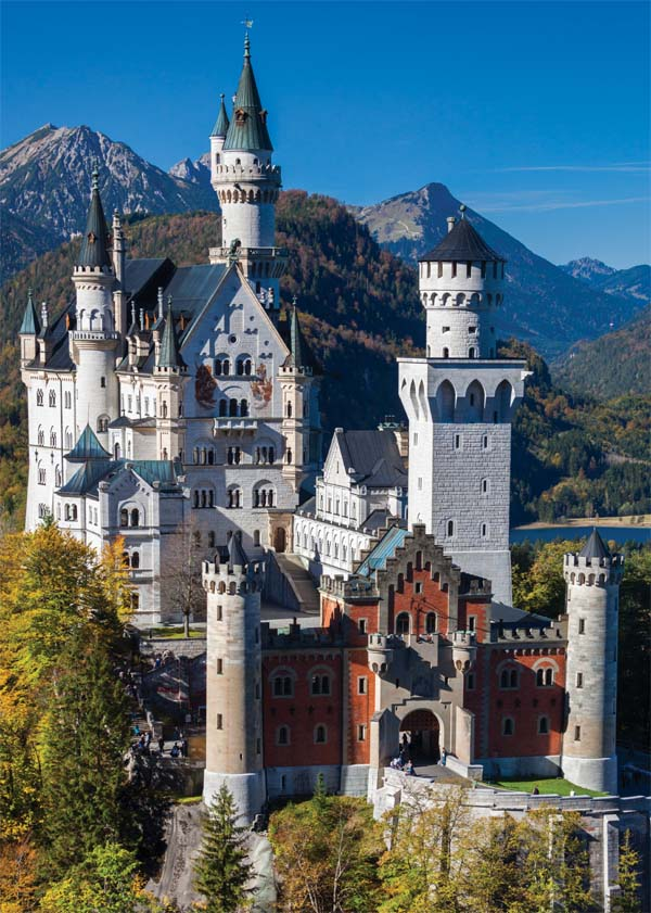 Neuschwanstein, Germany - 1000pc jigsaw puzzle