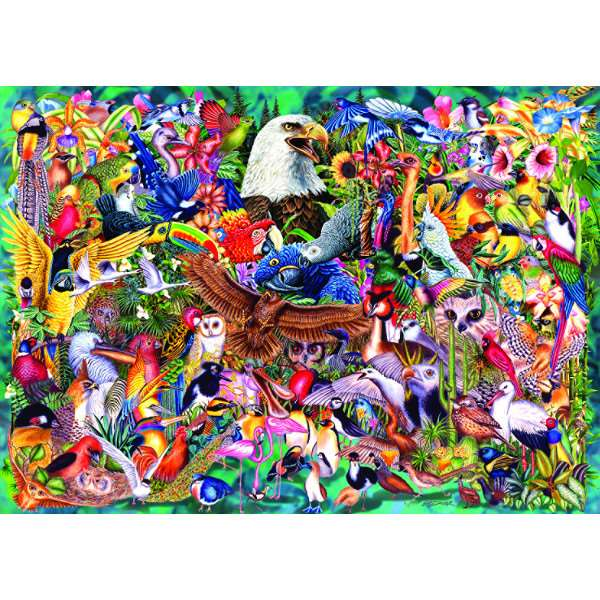 Animal Kingdom - 1000pc jigsaw puzzle