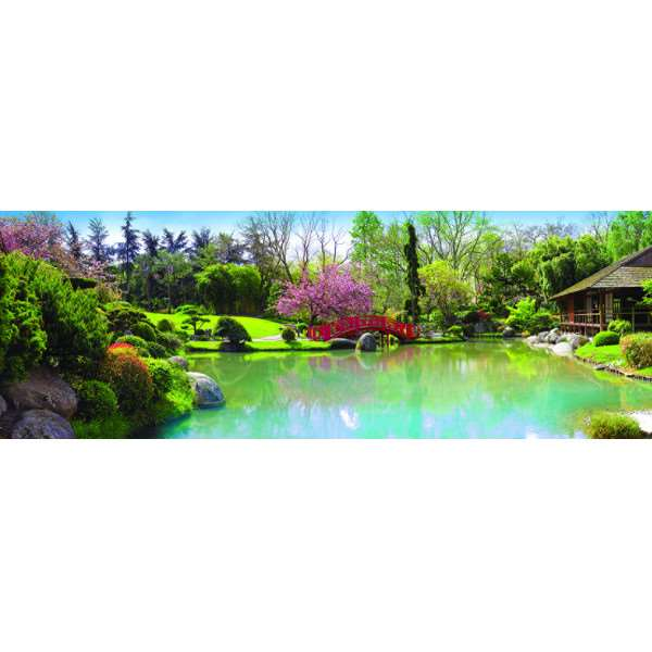 Colourful Garden - 1000pc jigsaw puzzle