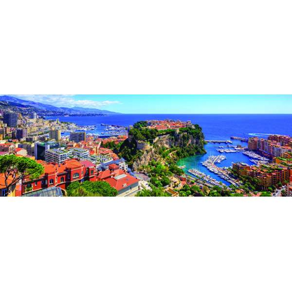 Monte Carlo - Panoramic - 1000pc jigsaw puzzle
