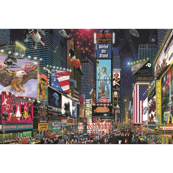 Times Square - New York - 1500pc jigsaw puzzle