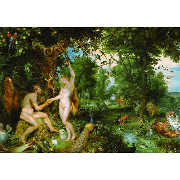 Garden of Eden - Rubens - 3000pc jigsaw puzzle