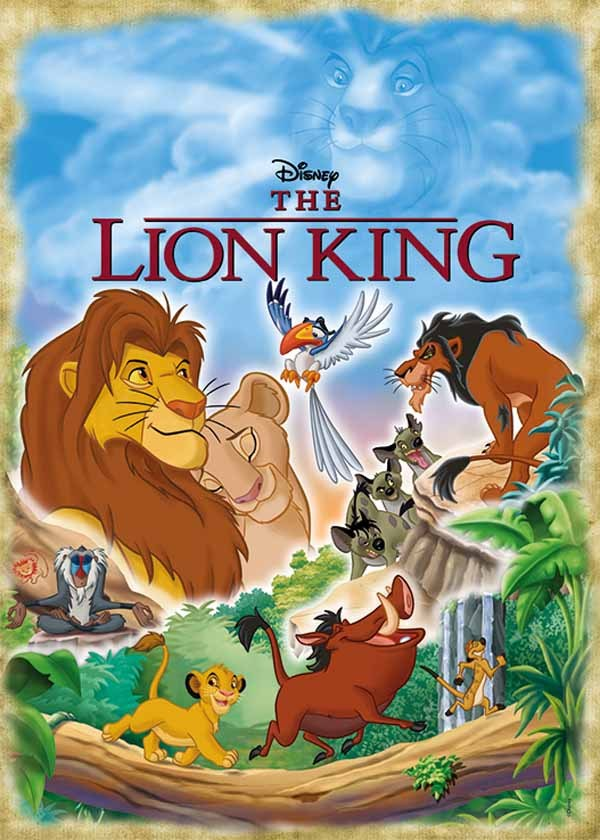 Disney Classic - The Lion King - 1000pc jigsaw puzzle