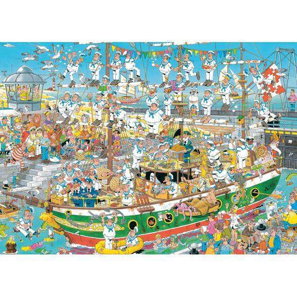 JVH - Tall Ship Chaos jigsaw puzzle