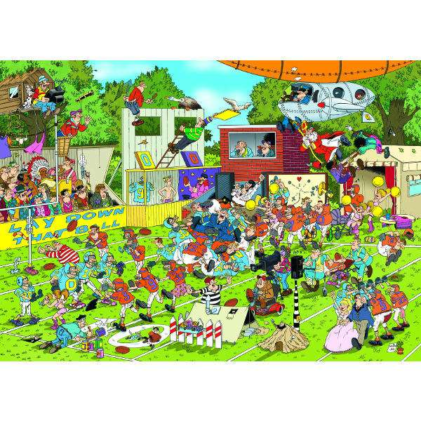 JvH - Chaos on the Field - 150pc jigsaw puzzle