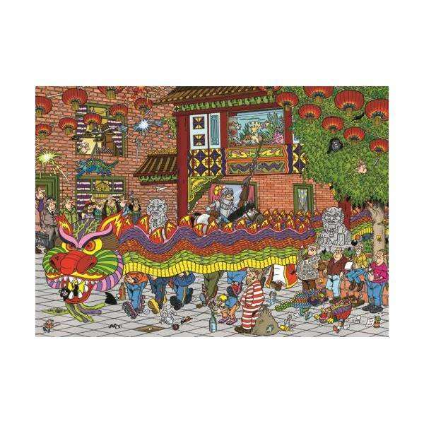 Chinese New Year - 500pc jigsaw puzzle