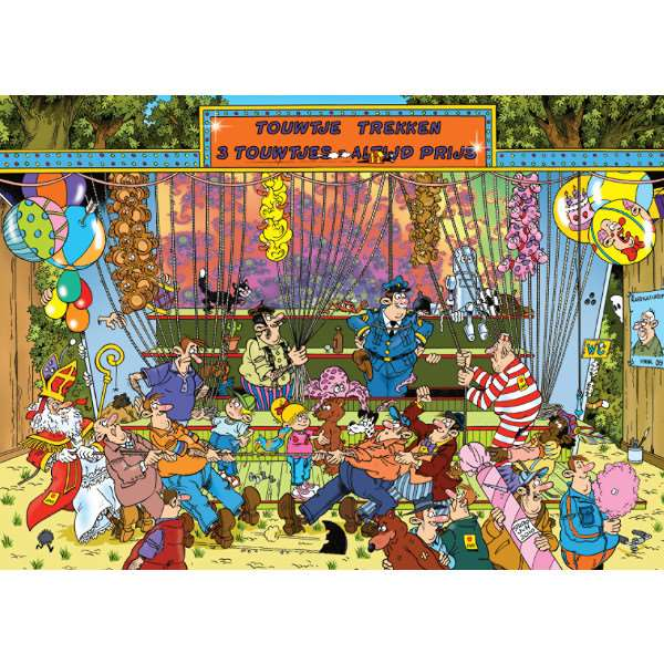 JvH - The Fair, Pulling Ropes - 150pc jigsaw puzzle